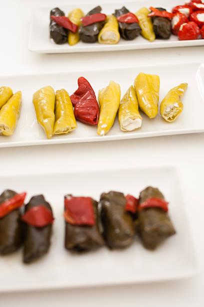 Pepper Appetiser stock photo