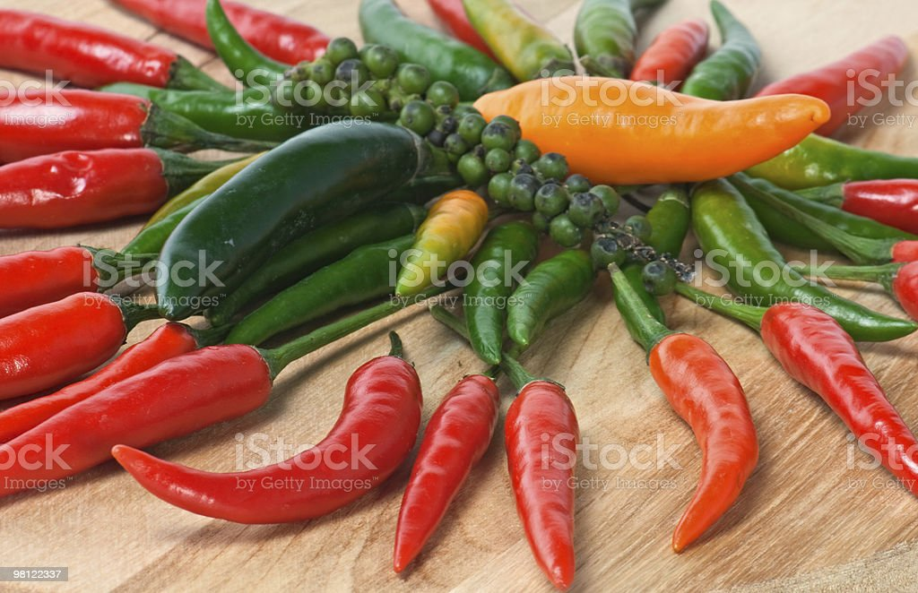 Pepper backgrounds royalty-free stock photo