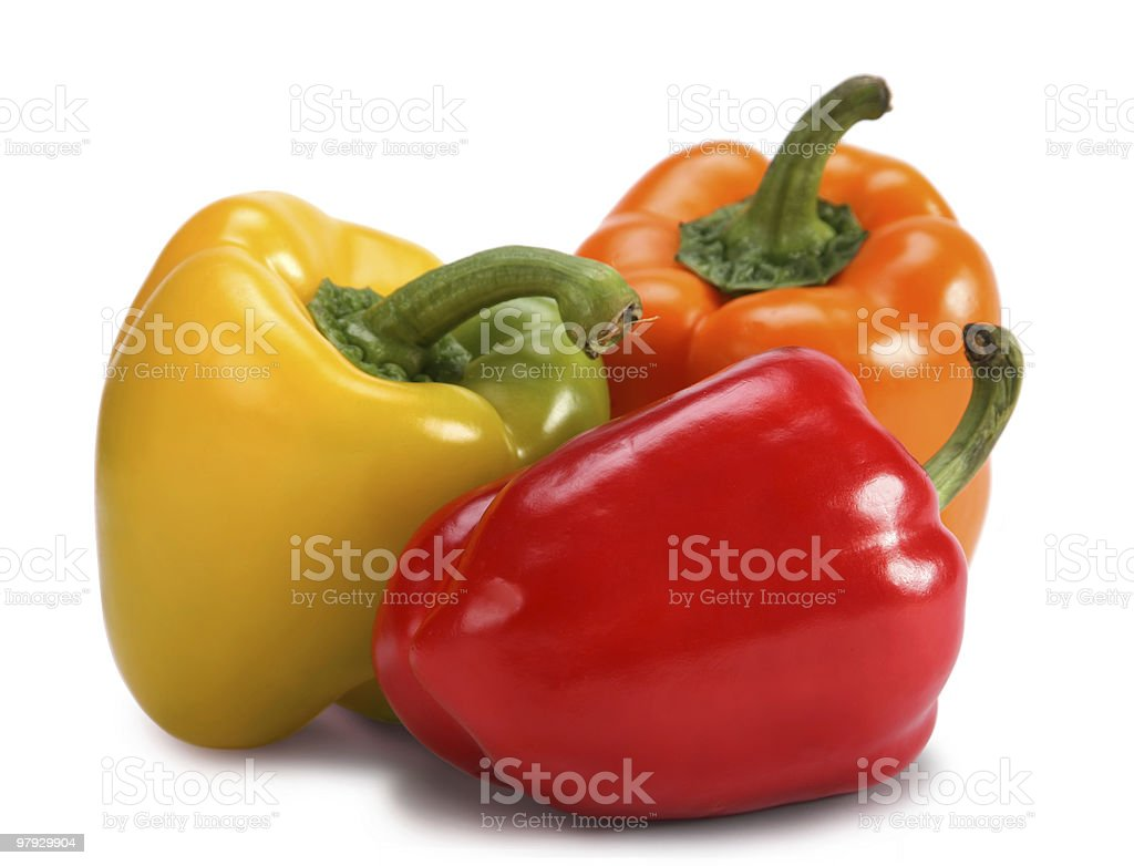 Pepper group royalty-free stock photo