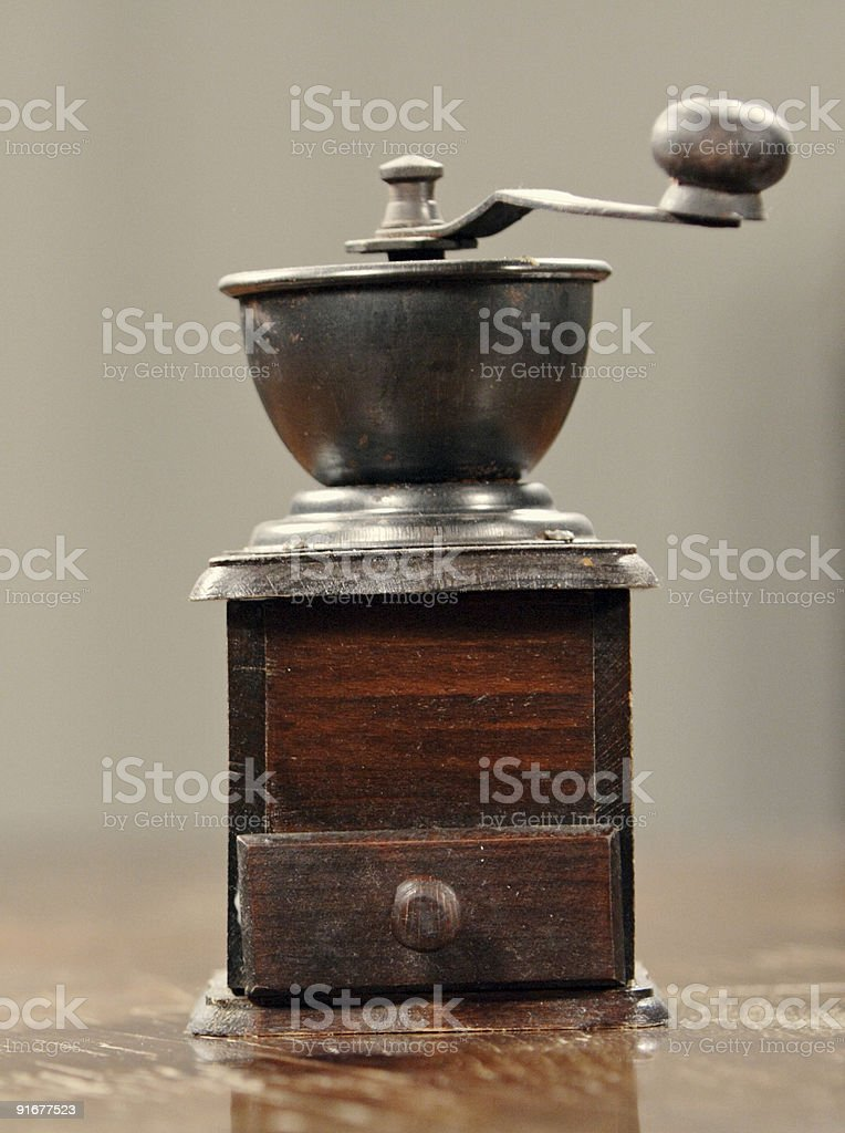 Pepper mill royalty-free stock photo