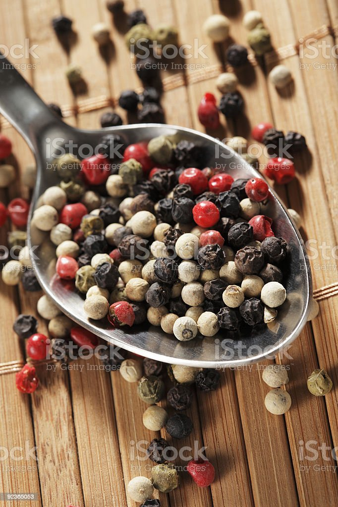 Pepper mix royalty-free stock photo
