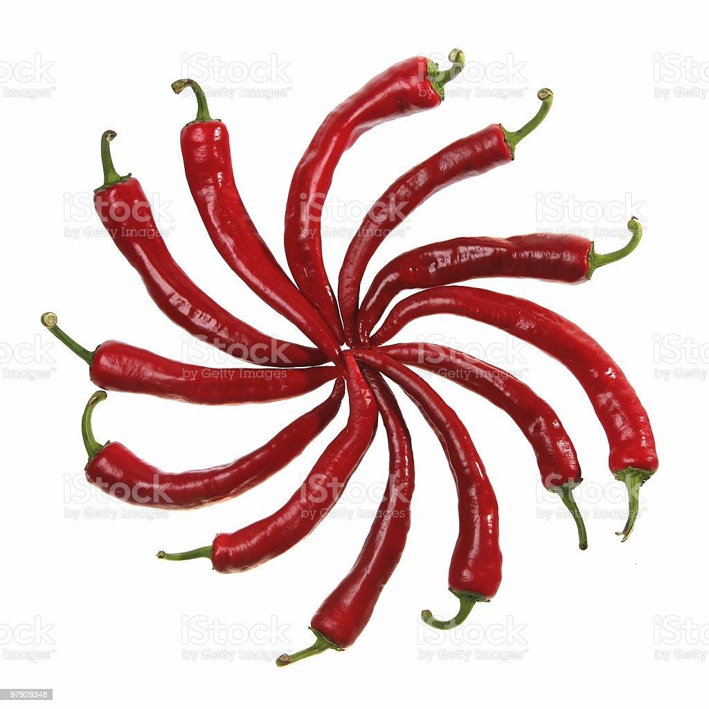 Pepper pattern royalty-free stock photo