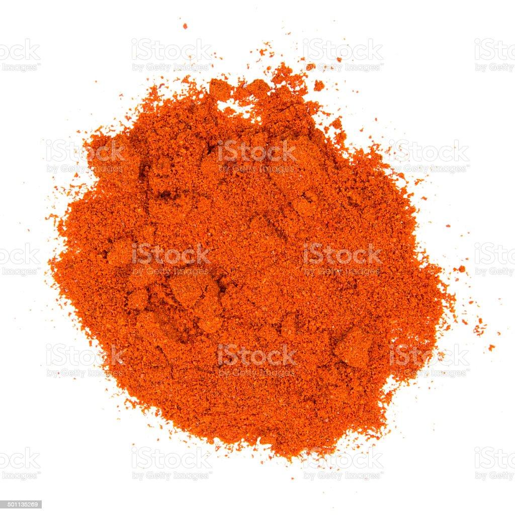 Pepper powder stock photo