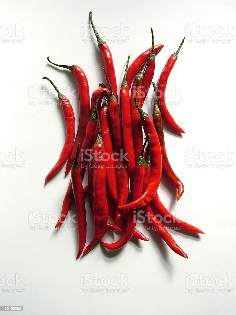 Pepper, Red pepper, royalty-free stock photo