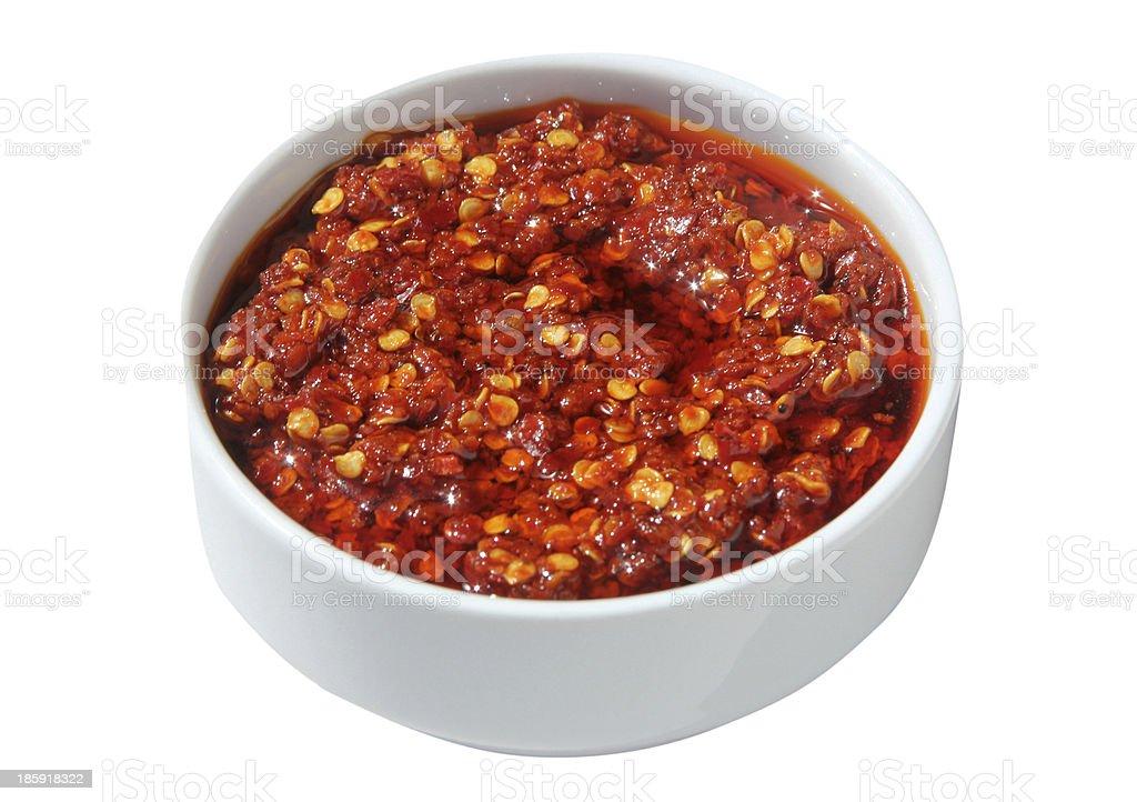 Pepper Sauce stock photo