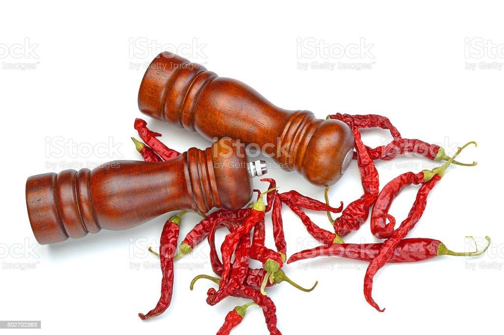 pepper shaker royalty-free stock photo
