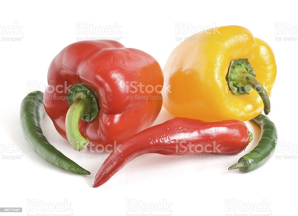 Pepper Still Life royalty-free stock photo