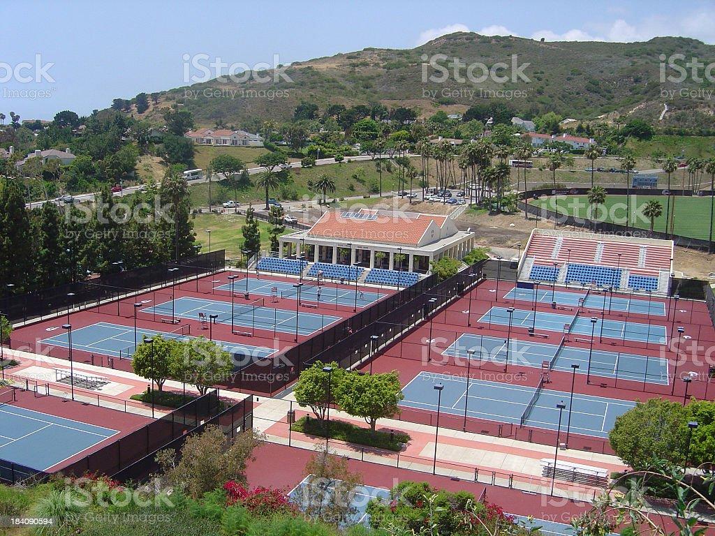 Pepperdine Tennis stock photo