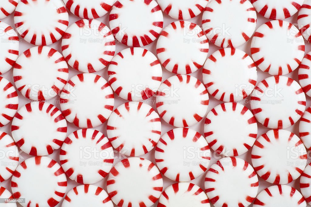 Peppermint Background royalty-free stock photo