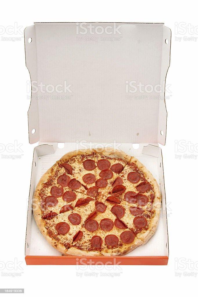 Pepperoni & Cheese - 01 stock photo