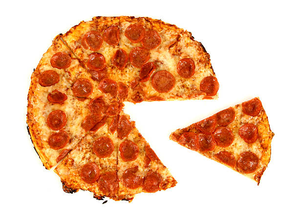 Pepperoni & Cheese2 - 01 stock photo