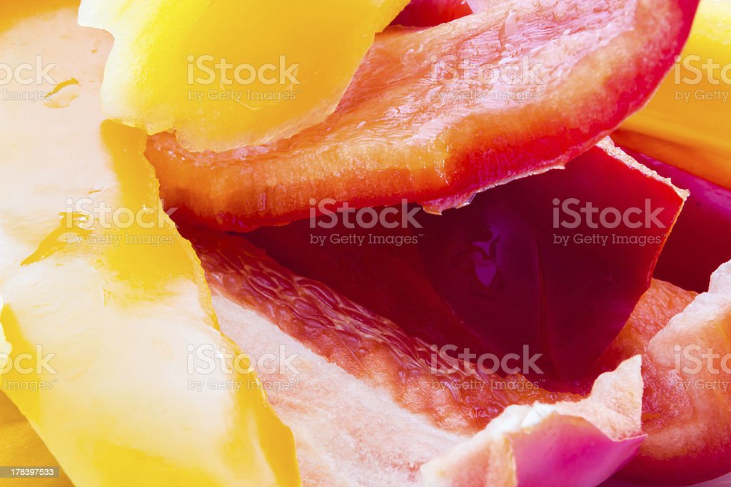Pepperoni royalty-free stock photo