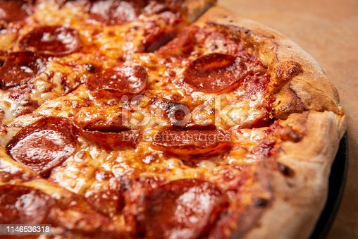 Pizza restaurant food