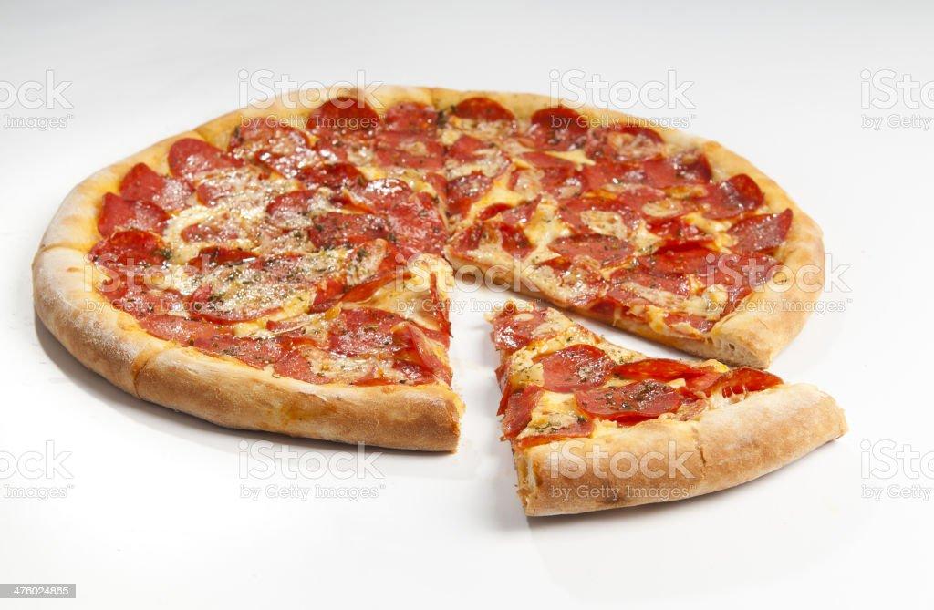 Pepperoni Pizza #2 stock photo