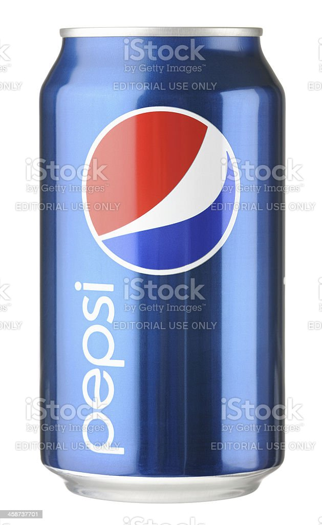 Pepsi Can royalty-free stock photo