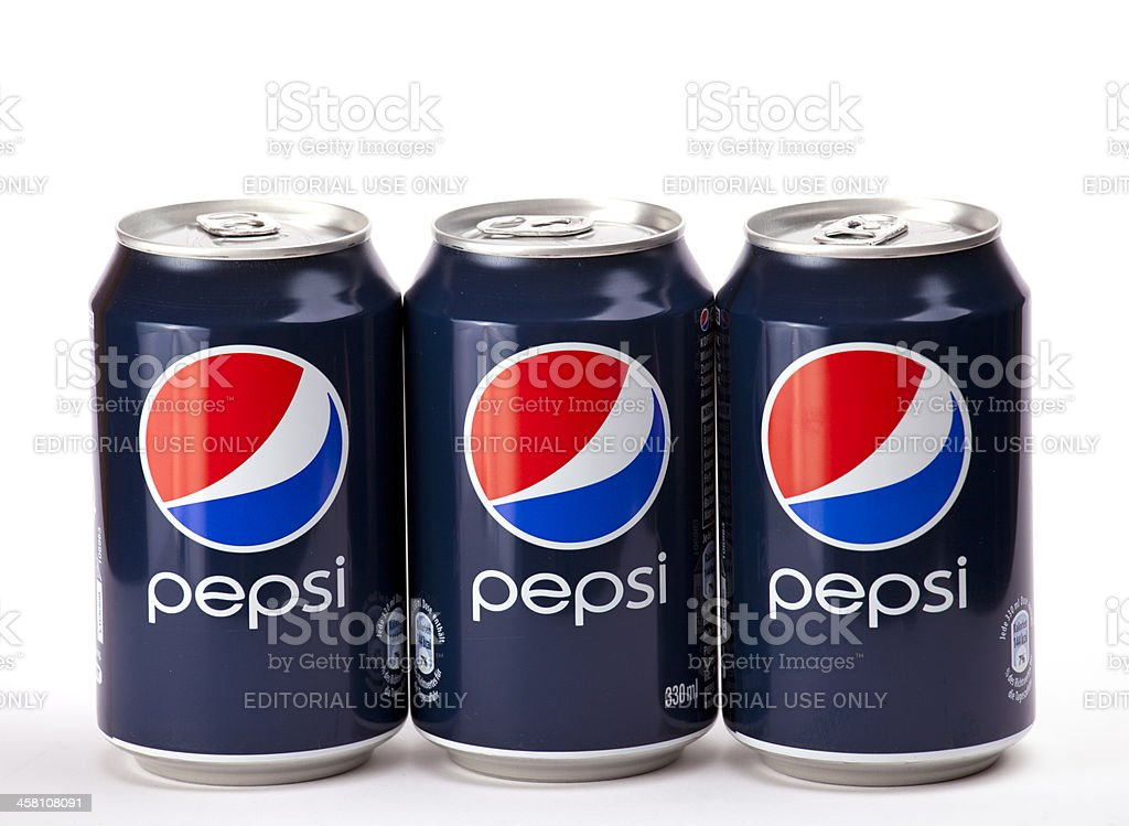 Pepsi cans royalty-free stock photo