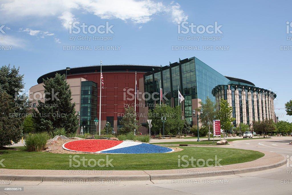 Pepsi Center arena Denver Colorado stock photo
