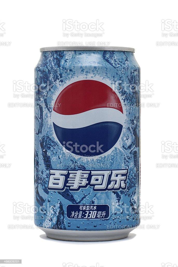 Pepsi Cola royalty-free stock photo