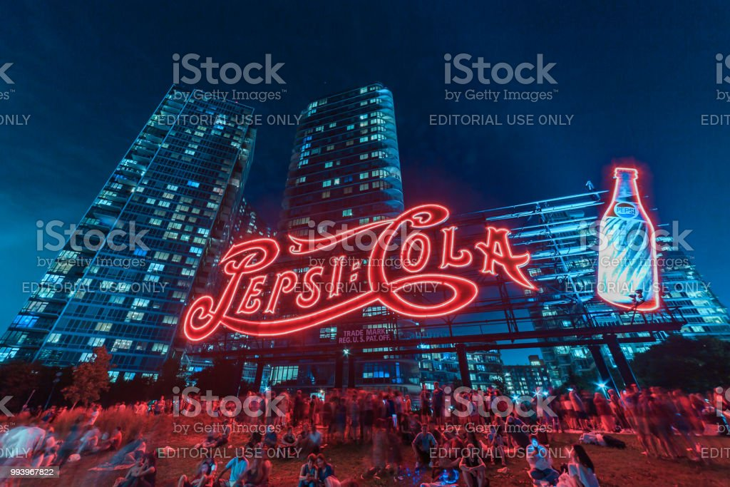 Pepsi Cola Sign 4th July