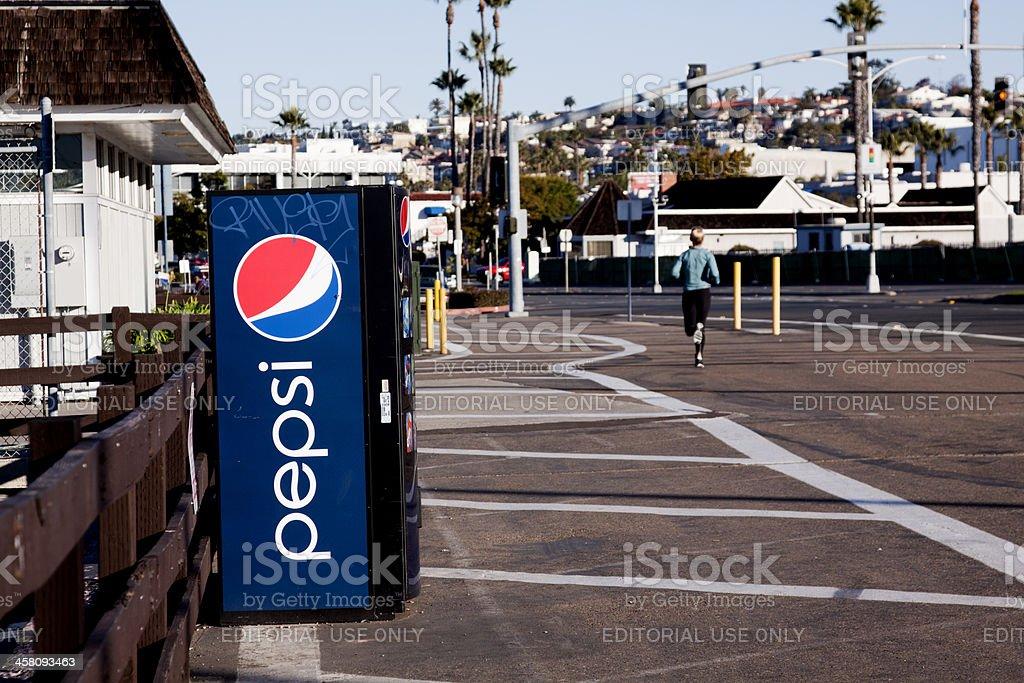 Pepsi Machine stock photo