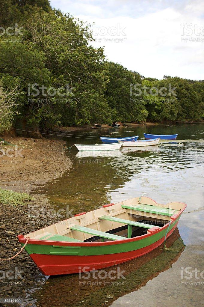 Pequeño puerto y natural royalty-free stock photo