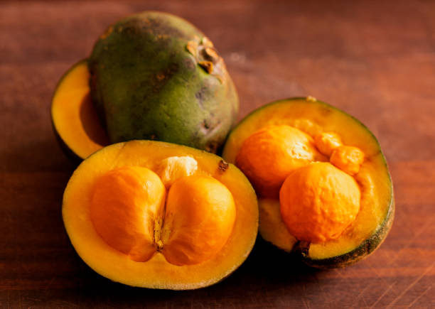 Pequi de Goiás com Casca This is a typical fruit of the regional cuisine of the center-west of Brazil, called Pequí. goias stock pictures, royalty-free photos & images