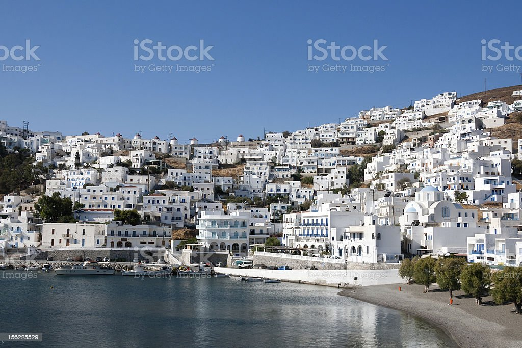 Pera Gialos Village, Astypalea - Greece royalty-free stock photo