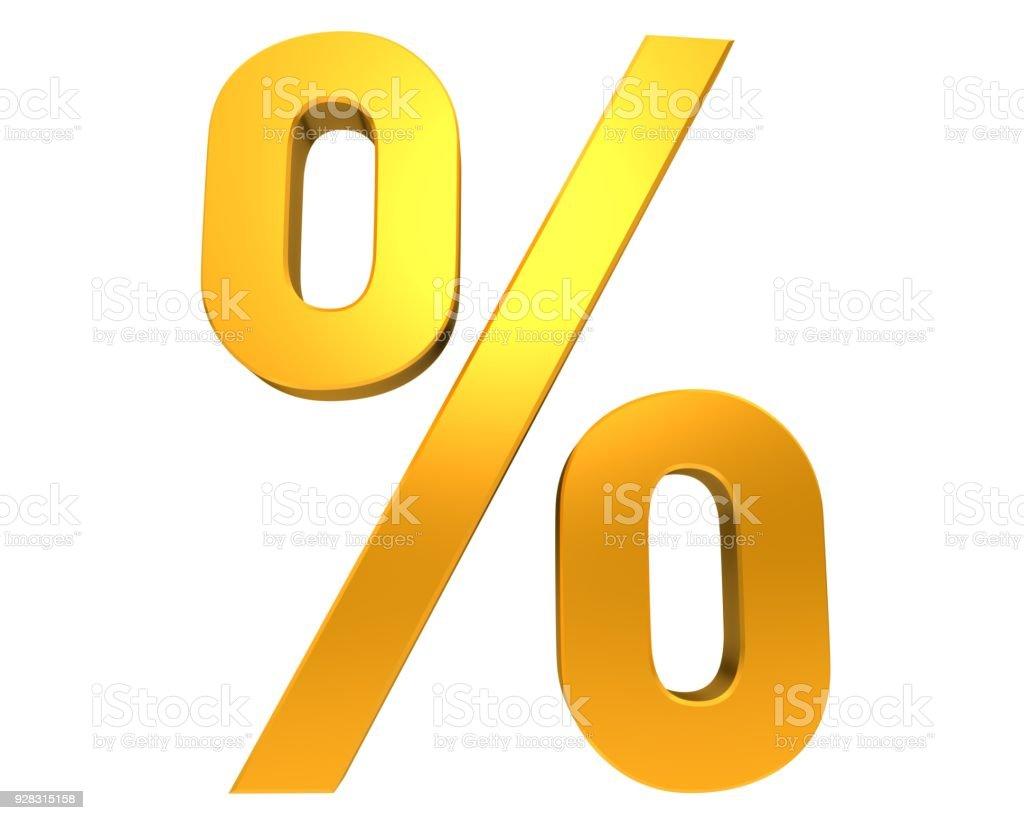 Fotografía de Signo De Porcentaje Porcentaje De último Minuto En ...