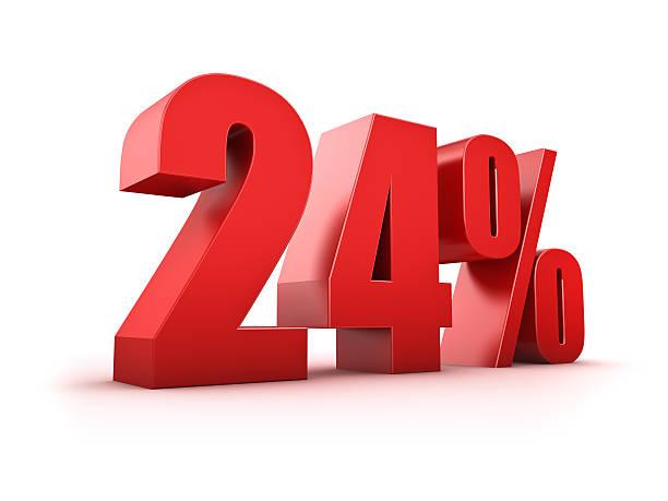 24 Prozent. – Foto