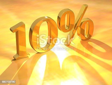 istock Percent % 682703790