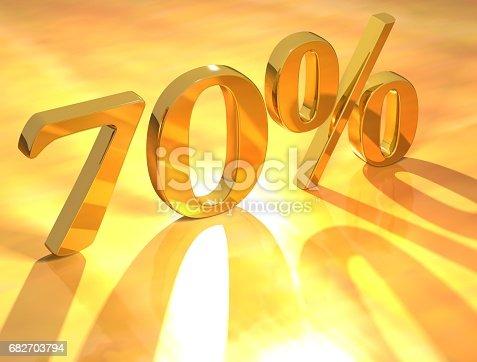 istock Percent % 682703794