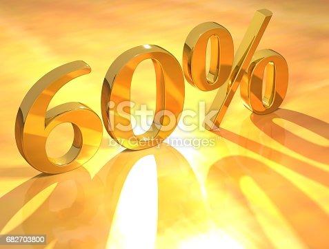 istock Percent % 682703800