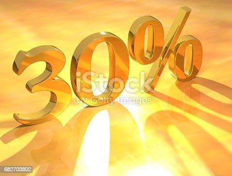 istock Percent % 682703802