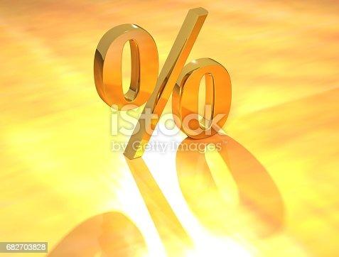 istock Percent % 682703828