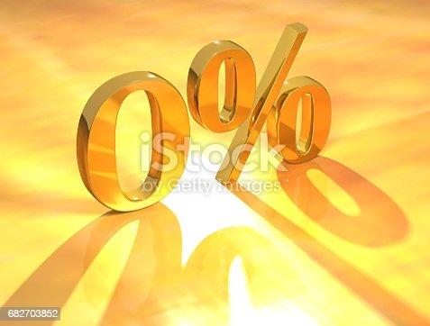 istock Percent % 682703852