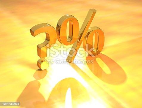 istock Percent % 682703894
