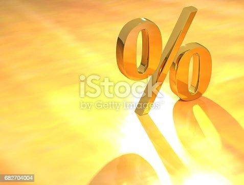 istock Percent % 682704004