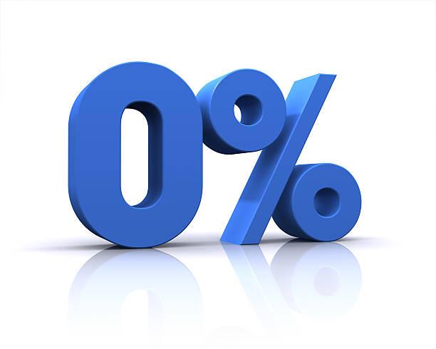 Porcentagem, 0% - foto de acervo