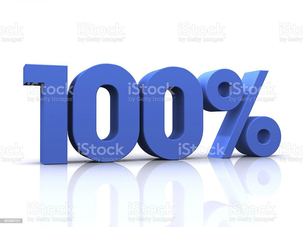 percentage, 100% stock photo