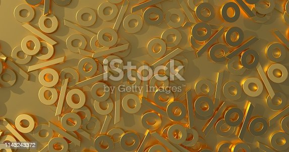 674991658 istock photo Percentage Sign Background Concept 1143243372