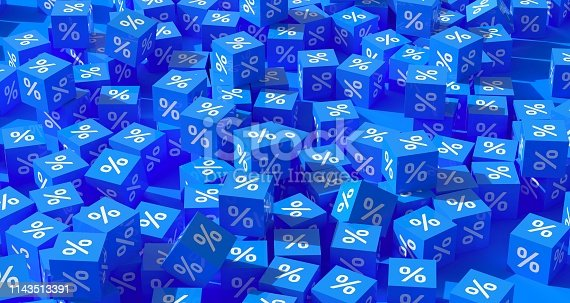 674991658 istock photo Percentage Sign Background Concept 1143513391
