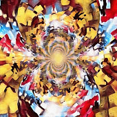 istock Perception. Mirrored round fractal 1290363791
