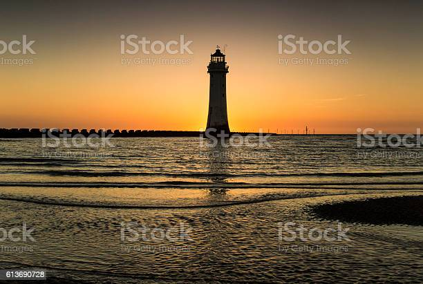 Perch Rock Lighthouse Stock Photo - Download Image Now