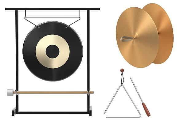 percussion set 3d renderings of percussion set cymbal stock pictures, royalty-free photos & images