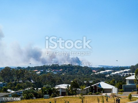 1195174769istockphoto Peregian bushfires on the Sunshine Coast, Queensland 1173774096