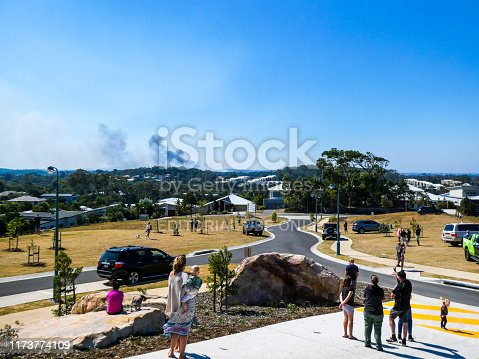 1195174769istockphoto Peregian bushfires on the Sunshine Coast, Queensland 1173774109