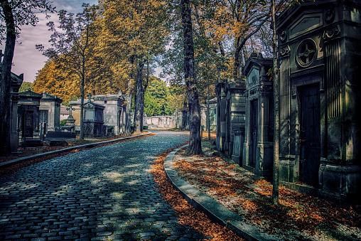 Pere-Lachaise cemetery in Paris
