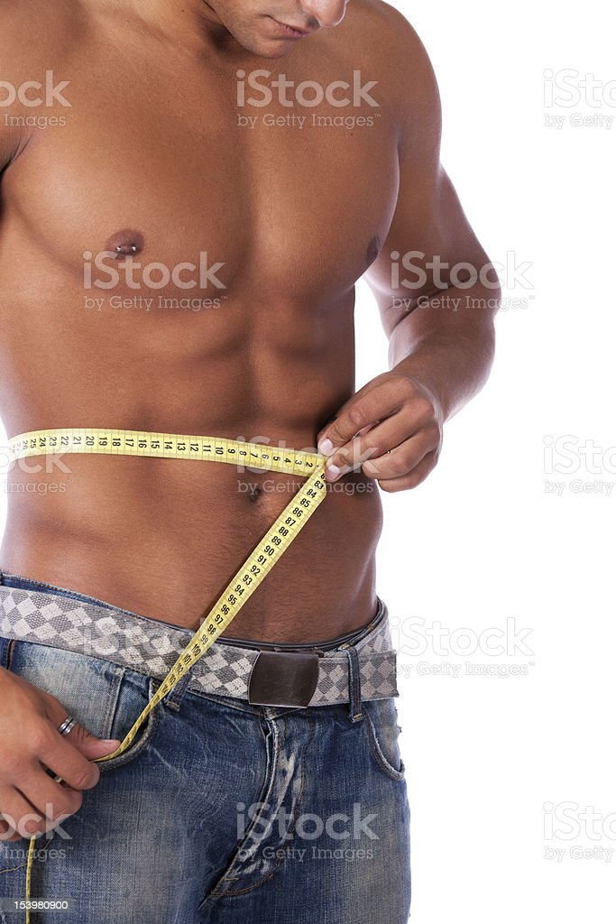 Perfect abdominals royalty-free stock photo