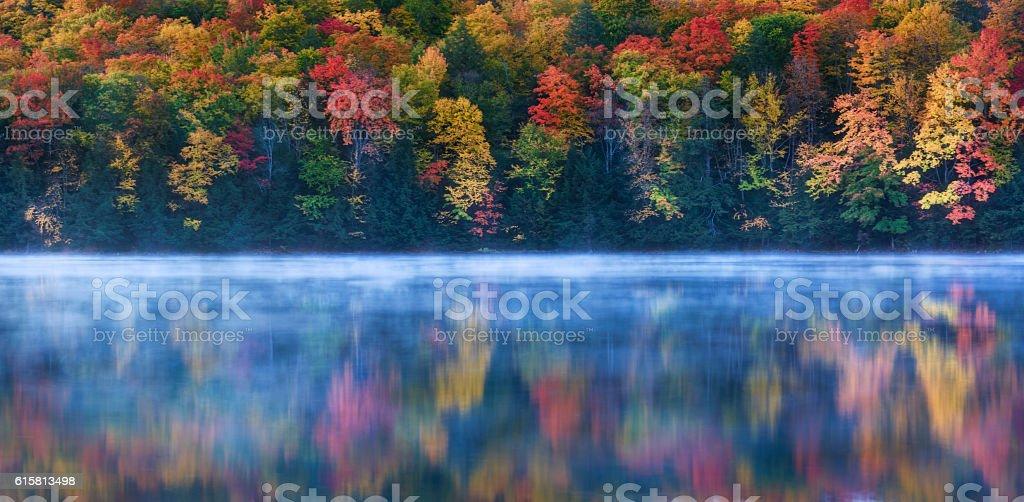 Perfect Autumn Morning stock photo