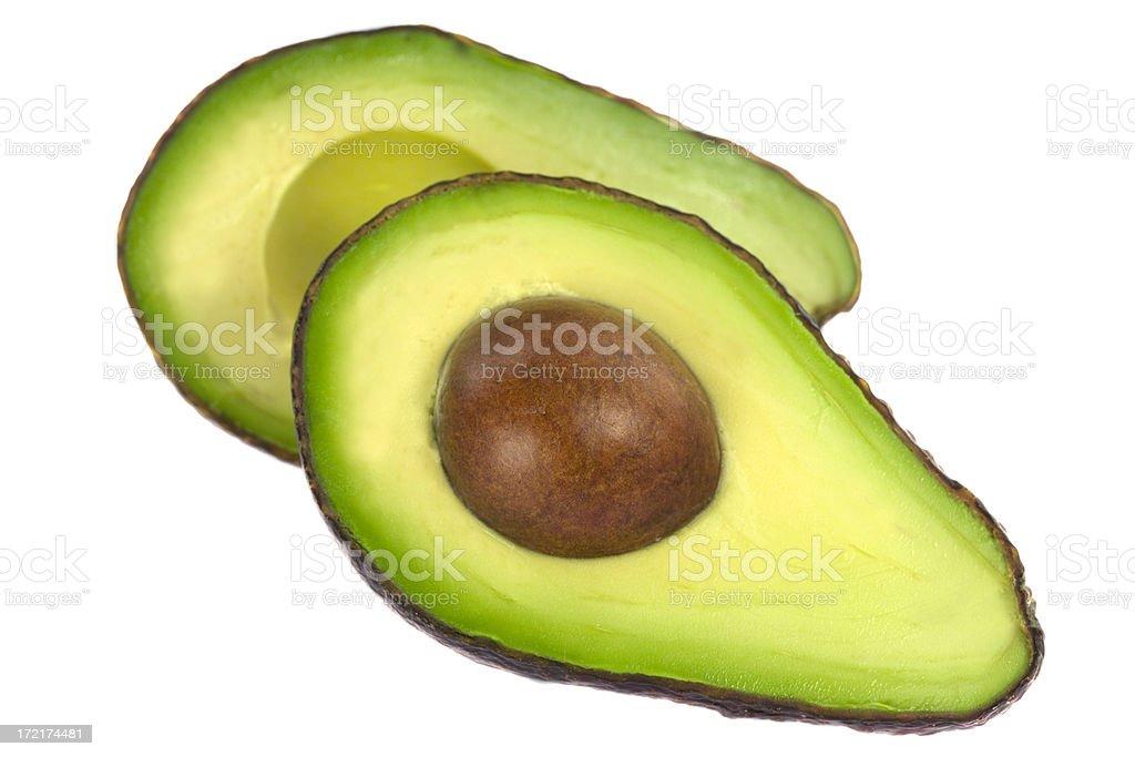 Perfect Avocado stock photo